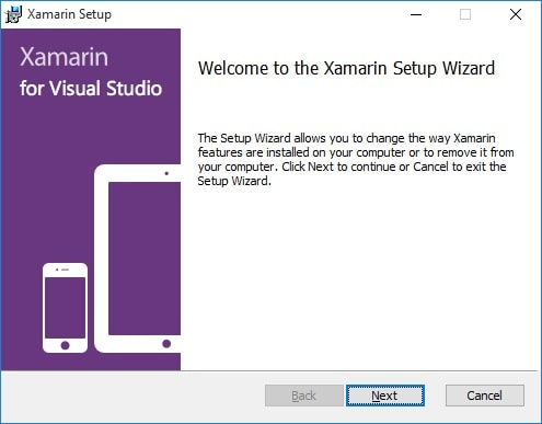نصب Xamarin Visual Studio